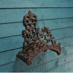 Cast Iron Decorative Garden Hose Holder by Fallen Fruits