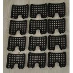 Set of 12 Insert Panels for Easy Fill Hanging Baskets