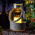 Portsmouth Battery Operated Candle Lantern By Smart Solar