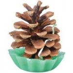 Pine Cone Firestarter Candle by Fallen Fruits