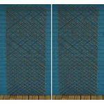 Set of 2 Expanding Willow Trellis (180cm x 90cm) by Gardman