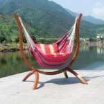 Patagonia Wooden Swing Hammock Chair by Suntime
