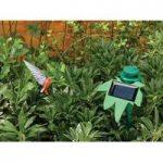 Fluttering Hummingbird Ornament with Solar Motion